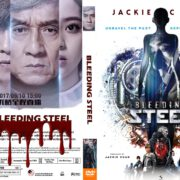Bleeding Steel (2017) R0 CUSTOM DVD Cover & Label