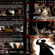 Jeepers Creepers Triple Feature (2001-2017) R1 Custom Blu-Ray Cover