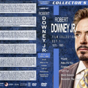 Robert Downey Jr. Film Collection – Set 1 (1970-1985) R1 Custom DVD Covers