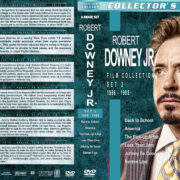 Robert Downey Jr. Film Collection – Set 2 (1986-1988) R1 Custom DVD Covers