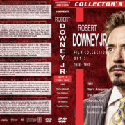 Robert Downey Jr. Film Collection – Set 3 (1988-1990) R1 Custom DVD Covers