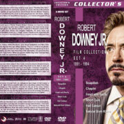 Robert Downey Jr. Film Collection – Set 4 (1991-1994) R1 Custom DVD Covers