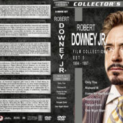 Robert Downey Jr. Film Collection – Set 5 (1994-1997) R1 Custom DVD Covers