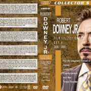 Robert Downey Jr. Film Collection – Set 9 (2006-2008) R1 Custom DVD Covers