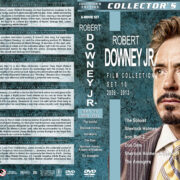 Robert Downey Jr. Film Collection – Set 10 (2009-2012) R1 Custom DVD Covers