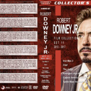 Robert Downey Jr. Film Collection – Set 11 (2013-2017) R1 Custom DVD Covers