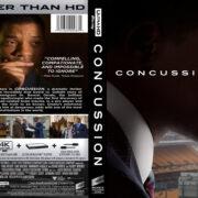 Concussion (2015) R1 Custom 4K Cover