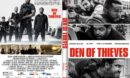 Den Of Thieves (2018) R1 CUSTOM DVD Cover & Label