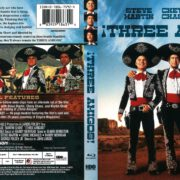 Three Amigos! (2011) R1 Blu-Ray Cover