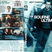 The Bourne Ultimatum (2007) R1 DVD Cover