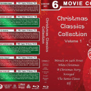 Christmas Classics Collection – Volume 1 (1947-2003) R1 Blu-Ray Cover