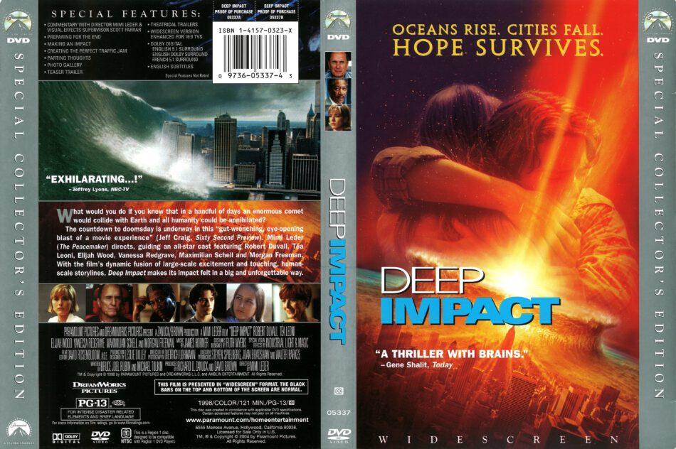 Deep Impact 1998 R1 Dvd Cover Dvdcover Com