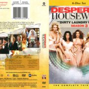 Desperate Housewives Season 3 (2007) R1 DVD Cover
