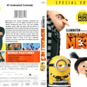 Despicable Me 3 (2017) R1 DVD Cover