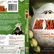Dinosaurs Seasons 1 & 2 (2016) R1 DVD Covers