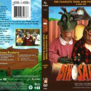 Dinosaurs Seasons 3 & 4 (2016) R1 DVD Covers