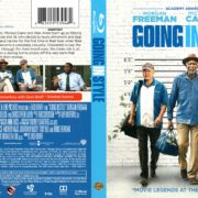 Going in Style (2017) R1 Blu-Ray Cover