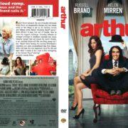 Arthur (2011) R1 DVD Cover