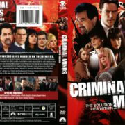 Criminal Minds Season 6 (2011) R1 DVD Cover