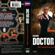 Doctor Who Series 8 (2014) R1 DVD Cover