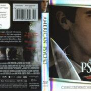 American Psycho (2000) R1 Blu-Ray Cover & Label