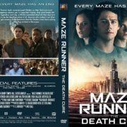 Maze Runner the Death Cure (2018) R1 Custom DVD Cover