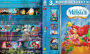 The Littlest Mermaid Collection (1989-2008) R1 Custom Blu-Ray Cover