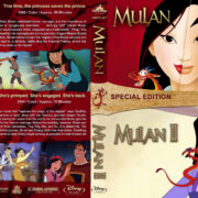 Mulan Double Feature (1998-2004) R1 Blu-Ray Cover