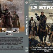12 Strong (2018) R0 Custom DVD Cover