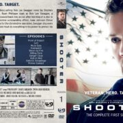 Shooter: Season 1 (2016) R1 Custom DVD Cover