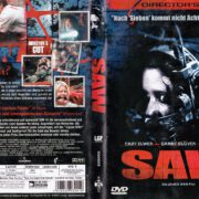 Saw (2004) R2 German DVD Cover & Label