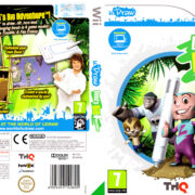 Dood's Big Adventure (2010) Pal Wii DVD Cover & Label