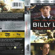 Billy Lynn's Long Halftime Walk (2016) R1 4K UHD Cover & Label