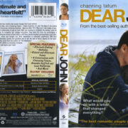 Dear John (2010) R1 Blu-Ray Cover & Label