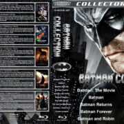 Batman Collection (10) (1966-2017) R1 Custom Blu-Ray Cover
