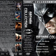 Batman Collection (10) (1966-2017) R1 Custom DVD Cover
