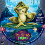 The Princess and the Frog (2009) R1 Custom DVD Label