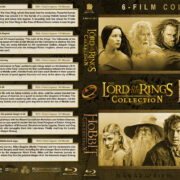 The Lord of the Rings Trilogy / The Hobbit Trilogy (2001-2014) R1 Custom Blu-Ray Covers