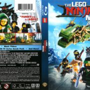 The Lego Ninjago Movie (2017) R1 Blu-Ray Cover