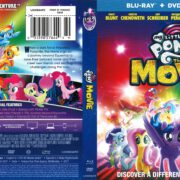 My Little Pony The Movie (2017) R1 Blu-Ray Cover