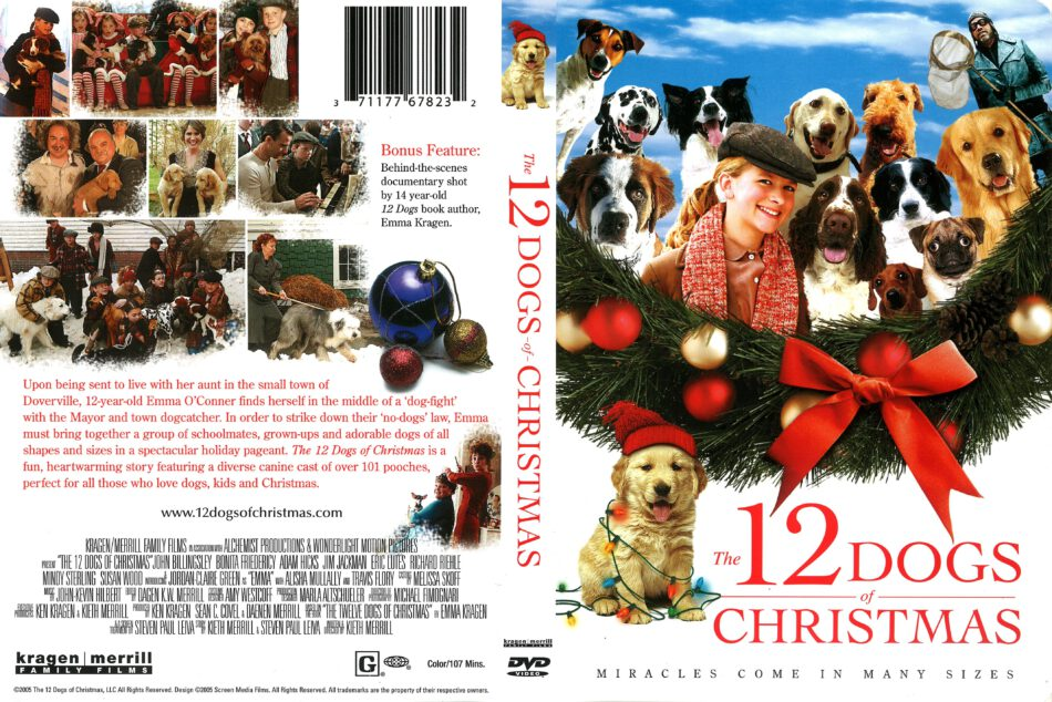 12 Dogs Of Christmas.The 12 Dogs Of Christmas 2005 R1 Dvd Cover Dvdcover Com