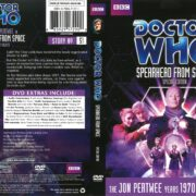 Doctor Who: Spearhead From Space (2012) R1 DVD Cover