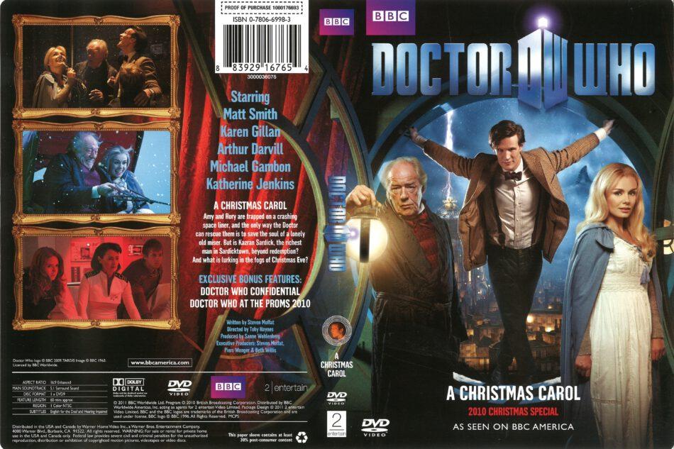 Dr Who Christmas Carol.Doctor Who A Christmas Carol 2011 R1 Dvd Cover Dvdcover Com