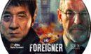 The Foreigner (2017) R0 Custom DVD Label