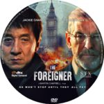The Foreigner (2017) R0 Custom DVD Label
