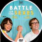 Battle of the Sexes (2017) R0 Custom DVD Label