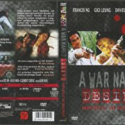 A War Named Desire (2000) R2 German Cover & label