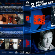 Patriot Games / Clear and Present Danger Double Feature (1992-1994) R1 Custom Blu-Ray Cover