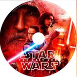 Star Wars the last jedi (2018) R0 CUSTOM DVD Label