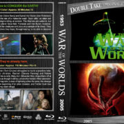 War of the Worlds Double Feature (1953-2005) R1 Custom Blu-Ray Cover